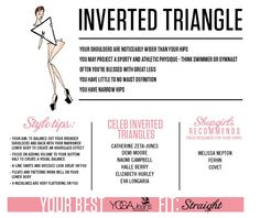 inverted triangle tips