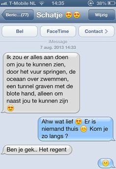 grappig whatsapp geprek :-D ←R. Funny Chat, Haha Funny, Lol, Funny Apps, Funny Images, Funny Pictures, Happy Mind Happy Life, Funny Drawings, Funny Text Messages