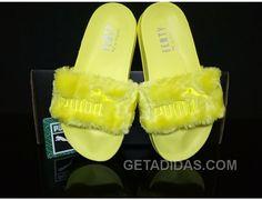 http://www.getadidas.com/puma-by-rihanna-leadcat-fenty-fur-slide-yellow-free-shipping.html PUMA BY RIHANNA LEADCAT FENTY FUR SLIDE YELLOW FREE SHIPPING Only $65.00 , Free Shipping!