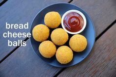 how to make bread cheese balls recipe, cheese bread balls with step by step photo/video. cheesy snack made from leftover bread slices and mozzarella cheese. Indian Snacks, Indian Food Recipes, Entree Recipes, Cooking Recipes, Sandwich Recipes, Vegetarian Recipes, Bread Toast, Cheese Ball Recipes, Meals
