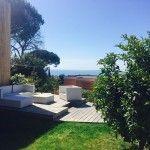 Quartier prisé magnifique villa duplex jumelée, contemporaine, avec terrasse et jardin, vue mer, belle exposition sud ouest, en excellent état, ..