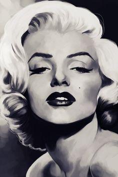 Marilyn Monroe by DustyLeaves
