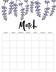 Printable Blank Calendar, Monthly Calendar Template, Weekly Planner Printable, Print Calendar, Calendar Design, Calendar Ideas, Planner Sheets, Planner Pages, Calendar 2019 And 2020
