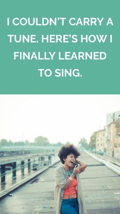 I developed a fantastic singing voice—and gained some confidence along the way. Vocal Lessons, Singing Lessons, Singing Tips, Singing Quotes, Music Lessons, Music Quotes, Art Lessons, Intj, Singing Techniques