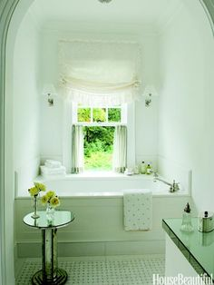 Home Sweet Home / Designer Bathrooms and Pictures - Bathroom Decorating Ideas - House Beautiful Bad Inspiration, Bathroom Inspiration, Dream Bathrooms, Beautiful Bathrooms, White Bathrooms, Serene Bathroom, Modern Bathrooms, Luxury Bathrooms, Master Bathrooms