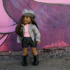 Check out this item in my Etsy shop https://www.etsy.com/listing/452149702/silver-linings-18-inch-doll-clothes