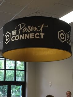 Parent connect sign over info center. Church Lobby, Church Foyer, Church Building, Building For Kids, Church Ministry, Kids Ministry, Ministry Ideas, Church Welcome Center, Kids Church