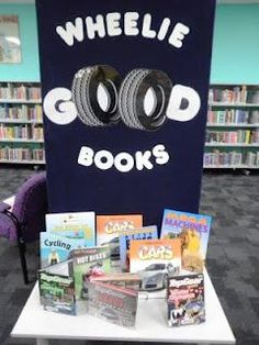 Library Displays: Wheelie Good Books  Transport Unit