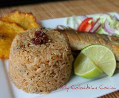 Arroz con Coco-Titote Colombian Food, Colombian Recipes, Spanish Dishes, Puerto Rican Recipes, Comida Latina, Healthy Recipes, Healthy Meals, Easy Recipes, Delish