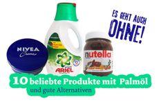 Palmöl steckt heute jedem zweiten Supermarktprodukt: Utopia zeigt bekannte Markenprodukte mit Palmöl und palmölfreie Alternativen.