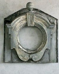 Antique 19th Century French Architectural Zinc Window { Frame } 2