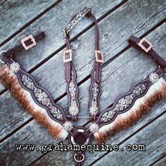Custom Angora Tack Set www.grahamequine.com