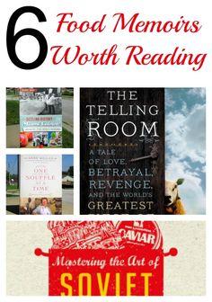 6 Food Memoir Books Worth Reading