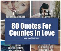 80 Quotes For Couples In Love
