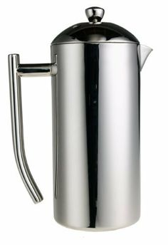 Frieling Polished Stainless French Press, 33 to 42-Ounce