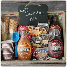 These DIY gift baskets are perfect for any occasion. These DIY gift baskets will make perfect gifts for any person in your life and for any occasion! Family Gift Baskets, Creative Gift Baskets, Christmas Gift Baskets, Family Christmas Gifts, Family Gifts, Creative Gifts, Xmas Gifts, Family Gift Ideas, Christmas Crafts
