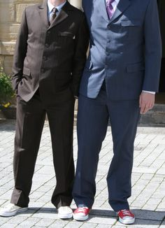 Doctor Who Ten's two suits. Love the one on the right for my Groom
