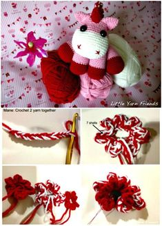 Free Crochet Lil' Baby Unicorn Pattern - Crochet Unicorn Pattern- 32 Free Crochet Patterns - DIY & Crafts