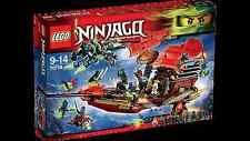 LEGO 70738 Ninjago Final Flight of Destiny's Bounty for sale online Lego Ninjago Sensei Wu, Lego Ninjago Lloyd, Ninjago Spinjitzu, Samurai, Lego For Sale, Classic Building, Lego News, Lego Parts, Lego Pieces