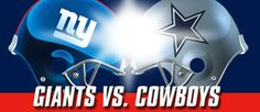 Giants vs. Cowboys on Sept. 5th 2012, mark your calenders.