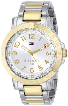 520cd77a85087e Tommy Hilfiger Womens 1781398 TwoTone Stainless Steel Watch   Check this  awesome product by going to
