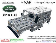LEGO MAP LR bodywork instructions | Sheep