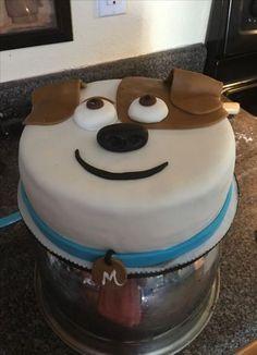 Birthday cake Secret life of a Pet - Birthday Cake Vanilla Ideen Cat Birthday Wishes, 2 Birthday Cake, Puppy Birthday, Animal Birthday, Birthday Ideas, Women Birthday, Husband Birthday, Cake Illustration, Puppy Cake