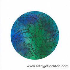 Global Zendala, original art, $35.20