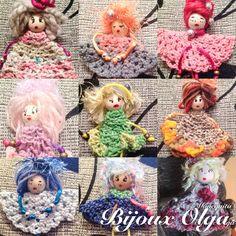 #muñequitabijoux #artesania #handmade #fetama #hechoamano #catalunya #crochet #gantxet #ganchillo