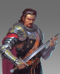 m Fighter plate armor sword ArtStation - General, Jia Cai