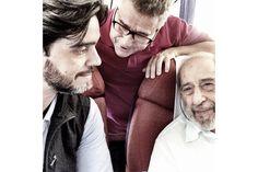 Fernando Guerra, Carlos Castanheira and Álvaro Siza Vieira