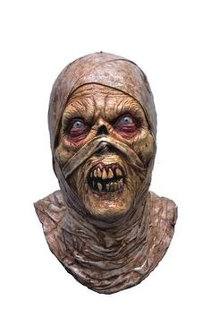 Evil Mummy Mask in Masks: Look out, something has escaped the tomb! Latex over-the-head mummy Halloween mask. Zombie Gear, Zombie Mask, Scary Mask, Halloween Horror Movies, Halloween Masks, Adult Halloween, Halloween Decorations, Yard Decorations, Halloween Goodies