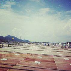 大曲の花火 桟敷席からのながめ Photo by kanten828 • Instagram