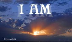 I AM ~ The two most important words in your vocabulary. Whatever you say after these words creates your life experience.