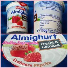 Erdbeere Paprika aus der neuen Joghurtreihe Almighurt Frucht & Gemüse.
