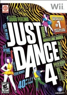 Just Dance 4 was recently released! I love the Just Dance games! I am so excited to see the newest release of Just Dance 4 video game! The music is so much fun Just Dance 4, Cool Dance, Wii Games, Xbox 360 Games, Playstation Games, Free Games, Wii U, Nintendo Wii, Nintendo Switch