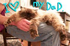 Goma loves his dad!