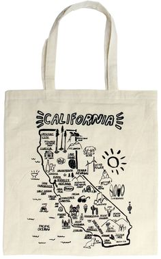 California Tote from People I've Loved available in our online store and our brick and mortar shop!