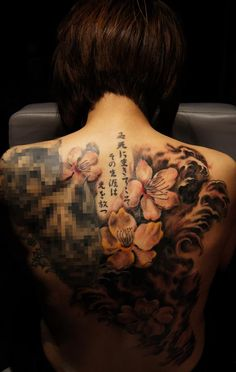 Chronic ink Tattoos, Toronto Tattoo - Damon's Back Piece! Done!  #cultural #tattoo #tattoos