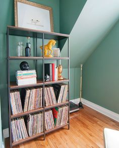 Vittsjo Refined--a great idea for bookshelves.  I hate a glass surface, so this would solve that issue.  Seems pretty easy.