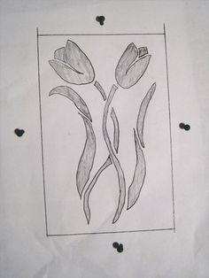 April Kiln Carving Step 1 free tutorials