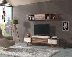 Tv Wand, Tv Unit, Designs, Panama, Armchair, Flat Screen, Room Ideas, Living Room, Medium