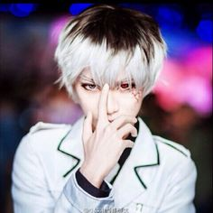 Cheap tokyo ghoul wig, Buy Quality male wig directly from China mens wig Suppliers: Tokyo Ghoul Wig Black White Ombre Short Straight Anime Sasaki Haise Cosplay Harajuku Male Wigs Synthetic Hair Men Wig Cosplay Anime, Epic Cosplay, Cosplay Makeup, Amazing Cosplay, Cosplay Wigs, Cosplay Costumes, Cosplay Boy, Cosplay Ideas, Kaneki