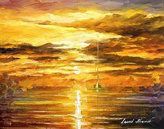 SUNSET OF FEELINGS - Original Oil Painting On Canvas By Leonid Afremov http://afremov.com/SUNSET-OF-FEELINGS-Canvas-By-Leonid-Afremov-20-X24-50cm-x-60cm.html?utm_source=s-pinterest&utm_medium=/afremov_usa&utm_campaign=ADD-YOUR