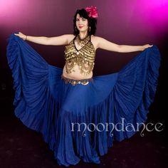 25 Yd ROYAL BLUE Super Gypsy Skirt