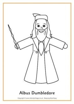 harry potter coloring pages including a color by number for following directions