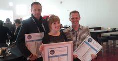 Beste Social Media Bedrijf van de Achterhoek #bsmba 2014 Met No.1 @SKB Winterswijk No. 2 @Erno Hannink en No 3 @DeGraafschap