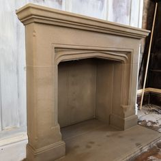 Georgian stone fireplaces  www.tomlinsonstonecraft.co.uk Cast Stone Fireplace, Stone Fireplace Surround, Natural Stone Fireplaces, Georgian, Architecture Details, Dream Homes, Natural Stones, Serenity, Nova