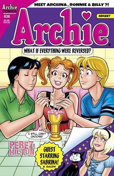 Awesome! Archie is now Archina in a gender swapping issue.