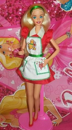 I used to have this Barbie.